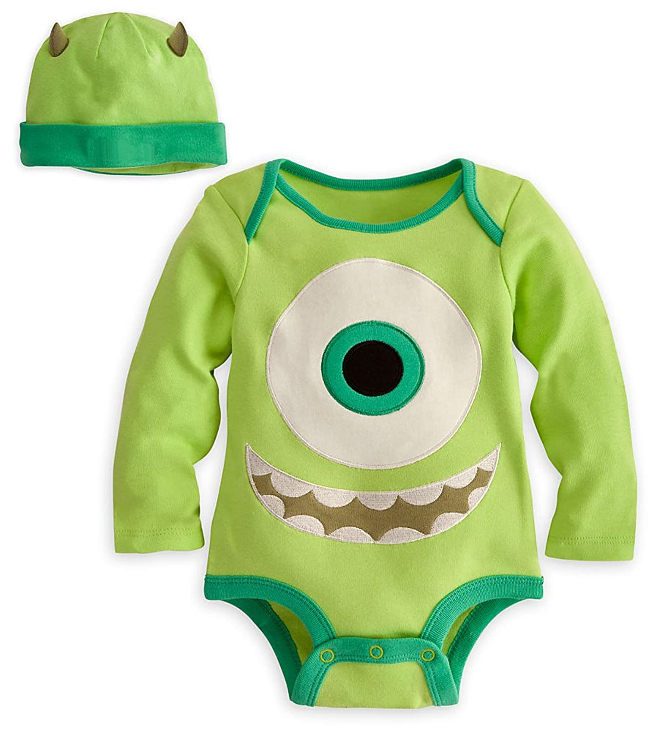 Amazon Disney Store Mike Wazowski esie Costume Bodysuit Size