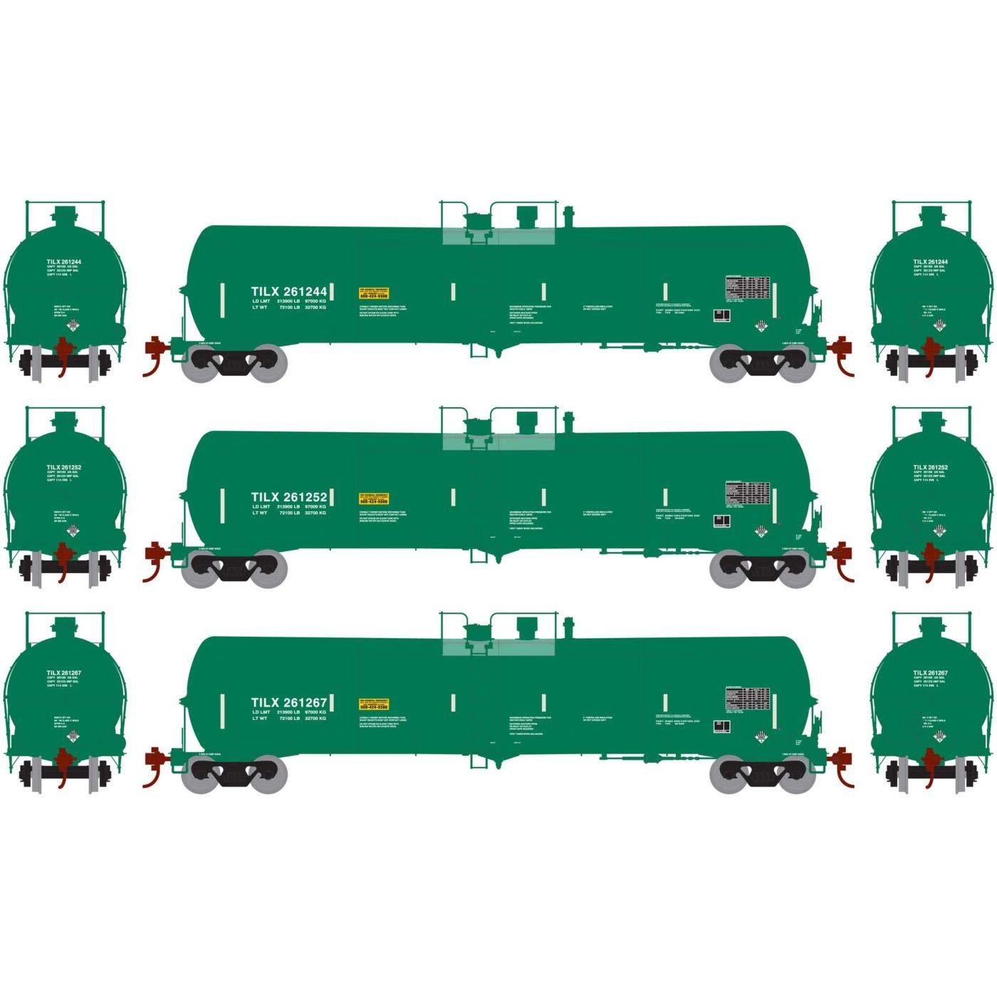 HO RTR 30,000 ガロン エタノールタンク TILX グリーン #2 (3) B07JX8JHYJ