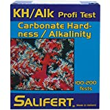 Salifert Carbonate Hardness & Alkalinity (Kh/Alk) Test Kit, 100-200 Tests