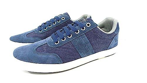 1ffcd97a4a2 Lumberjack Men s Trainers Blue Denim  Amazon.co.uk  Shoes   Bags