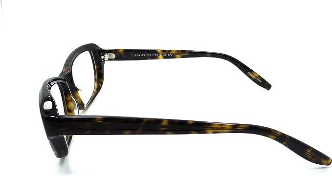 Barton Perreira Corday Eyeglasses Frames 52-16-140 Dark Walnut Women