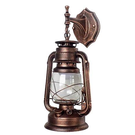 best sneakers f16d2 efc1f Boshen Lantern Rustic Vintage Wall Mounted Lamp Lantern ...