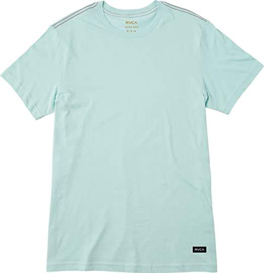 New RVCA Big RVCA T-Shirt Green Vintage White
