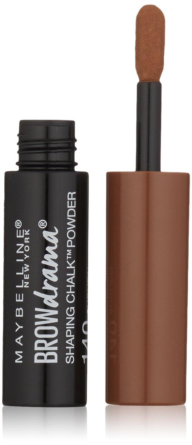 Maybelline Brow Drama Shaping Chalk Powder, Auburn, 0.035 fl. oz.