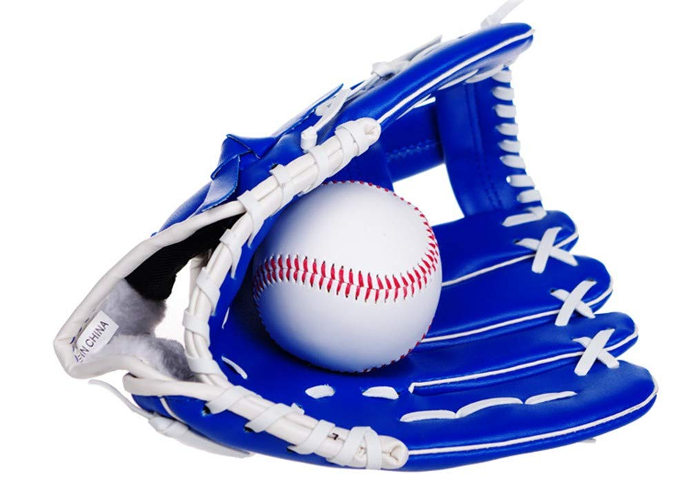 Baseballhandschuhe Blau DNYJMDY07 Baseball-Handschuh-Sport-Schlaghandschuhe Baseball-Handschuhe PVC-Dicker Softball