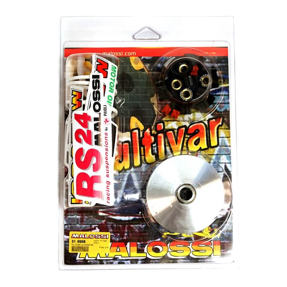 Malossi 51 9988 - M519988 Variator for Kymco 2 Stroke Air Cooled 50ccScooter