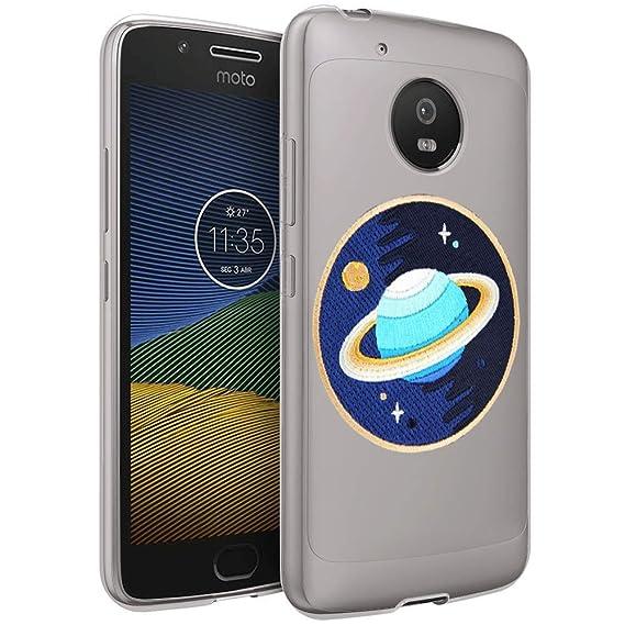 Amazon.com  Moto G5 Plus Clear Case Planet Soft Ultra-Thin Shock ... fb4a3242b23