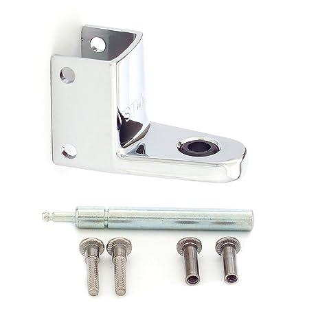 Mills Partitions T Top Toilet Partition Door Hinge Kit - Bathroom partition door hinges