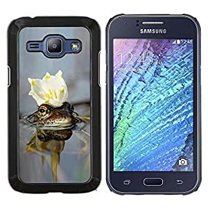 Queen Pattern - FOR Samsung Galaxy J1 J100 J100H - Nature Beautiful Forrest Green 24 - Cubierta del caso de impacto con el patr???¡¯???€????€???&Acir