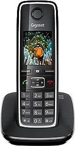 Gigaset C530 - Teléfono fijo inalámbrico con pantalla Color: negro. [Versión Importada]: Amazon.es: Electrónica