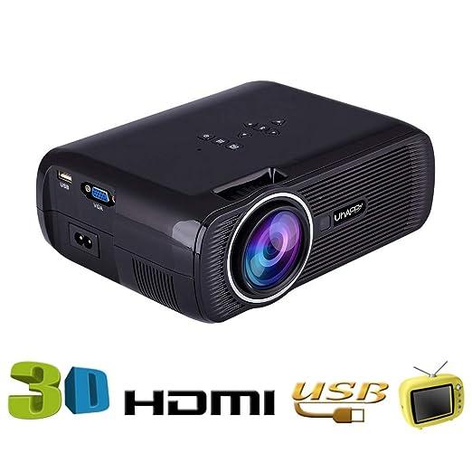 YTDDD Proyector, Mini Video proyector casero, proyector portátil ...