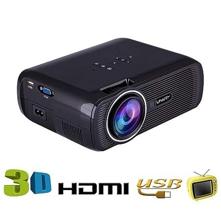 YTDDD Proyector, Mini Video proyector casero, proyector ...