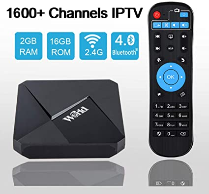 Caja IPTV 4K, Caja Receptor IPTV Internacional con más de 1600 ...
