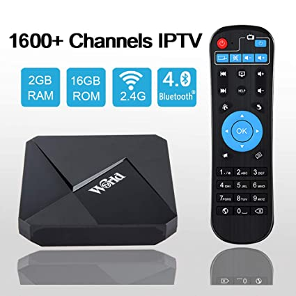 Goldenbox 2019 International IPTV Receiver Box with Lifetime Subscription  for 1600+ Global Live Channels Including North American European Asian