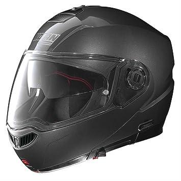 Nolan N104 Evo Classic N- Com - Casco modular de moto lava-grau Talla