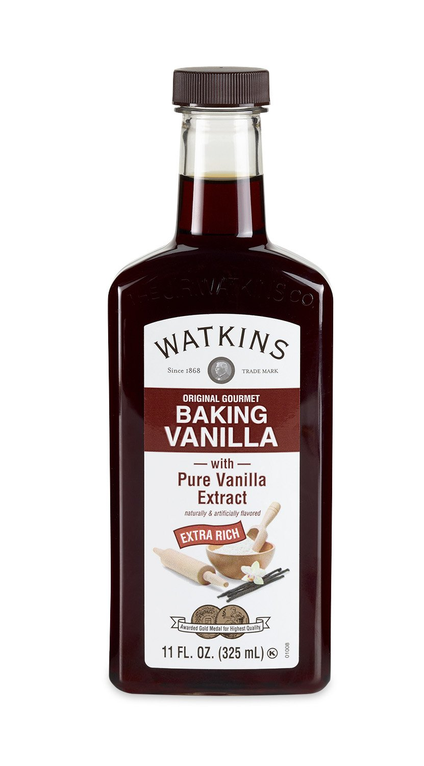 Watkins Original Extract, Baking Vanilla, 11 Ounce  (Packaging may