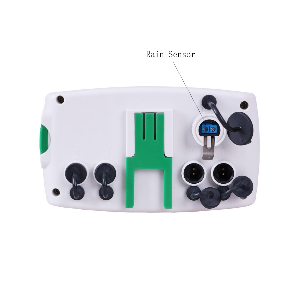 Aqualin Programador de riego 4 Zonas Controlador de Temporizador ...
