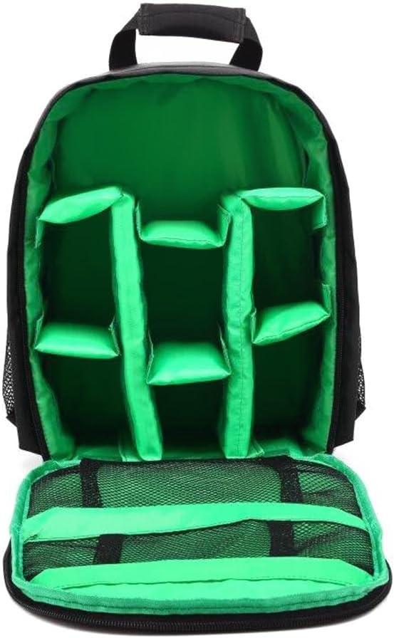 Docooler mochila portátil de fotografía: multifuncional a prueba de agua y antichoque para cámaras SLR, cámaras digitales, lentes, trípodes y otros accesorios bolso para cámara réflex