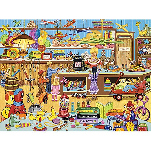 Bits and Pieces-The Old Toy Store - 1000 Piece Jigsaw Puzzle