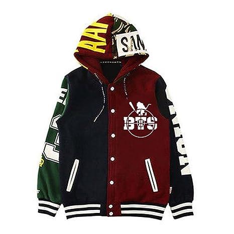 Women's Clothing Lovely 2018 New Kpop Bts Jimin Jung Kook Baseball Uniform Cotton Hoodie Coat With Hat Terrific Value