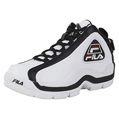 Fila Men's Grant-Hill-2 White/Black/Fila Red Sneakers Shoes Sz: 8.5 | Loafers & Slip-Ons