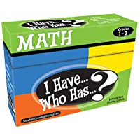 Teacher Created Resources I Have. Who Has.? Math Games Grade 1-2 (7817