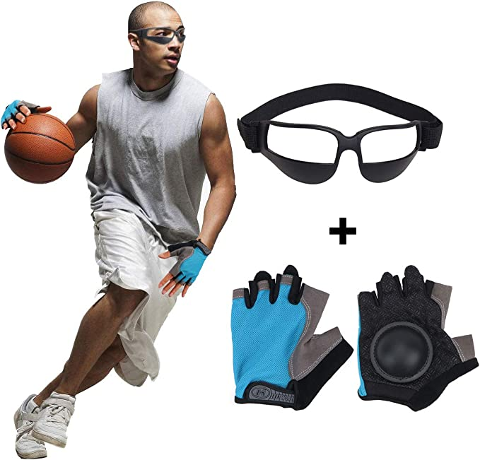 20x Head Up Glasses Dribble Goggle Basketball Training Practicing Equipment