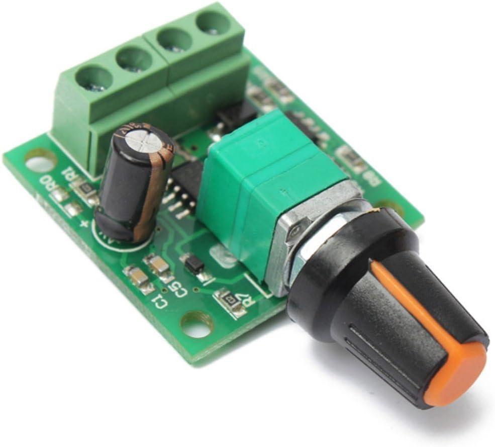 Lüfter Motor Drehzahlregler Ventilator Drehzahlsteuerung Modul DC 5V-24V 1A NEU■