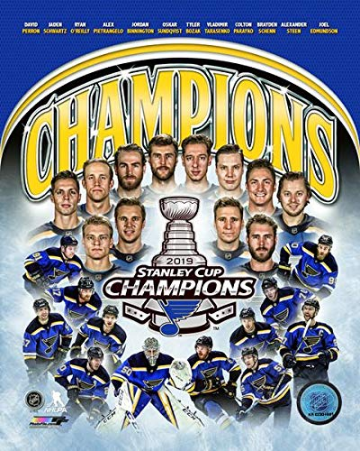 St. Louis Blues 2019 Stanley Cup Champions Team Collage 8