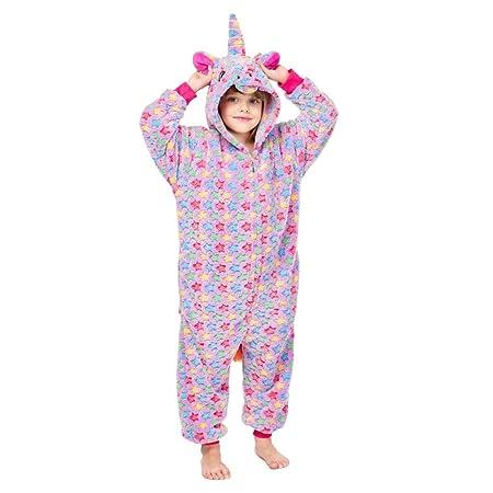 FTYUNWE para Niños Animal Pijama Caballo Día Púrpura Animale ...
