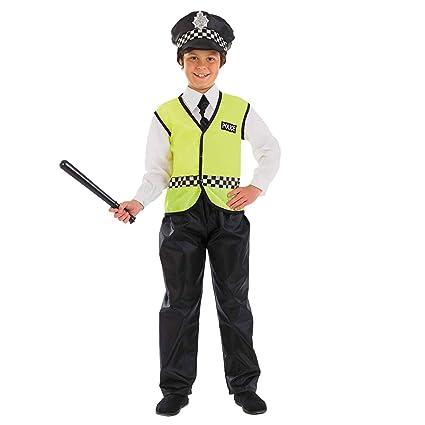 Amazon.com: Disfraz de policía británico para niños de 10 a ...