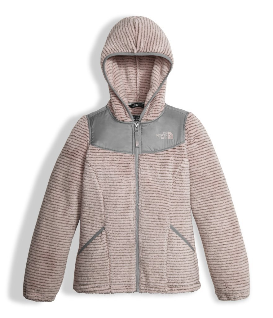 The North Face Girl's OSO Hoodie - Purdy Pink Stripe - XS (Past Season)