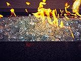 Aquamarine Fire Pit Fire Glass 1/2'' 10lbs