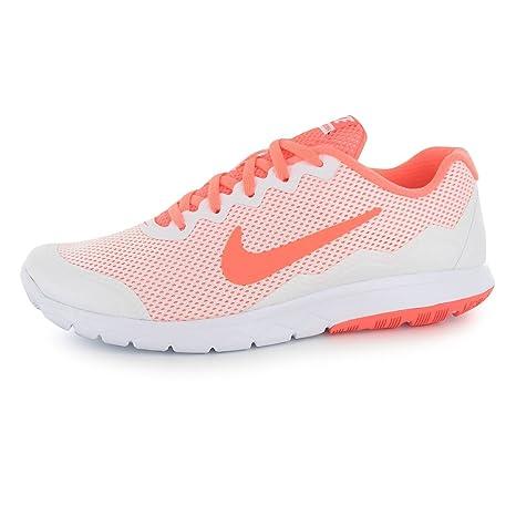 Nike Flex experto experiencia 4 Zapatillas de running para mujer blanco/ mango Trainers zapatillas deportivas