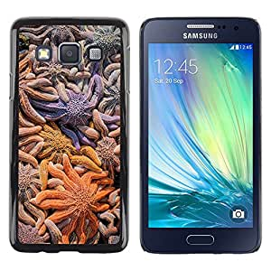 LECELL--Funda protectora / Cubierta / Piel For Samsung Galaxy A3 SM-A300 -- Star Coral Diving Surf Ocean Summer --