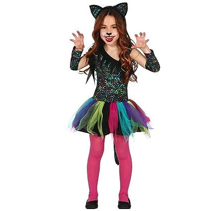 NET TOYS Disfraz Infantil Leopardo Vestido de Leopardo niña ...