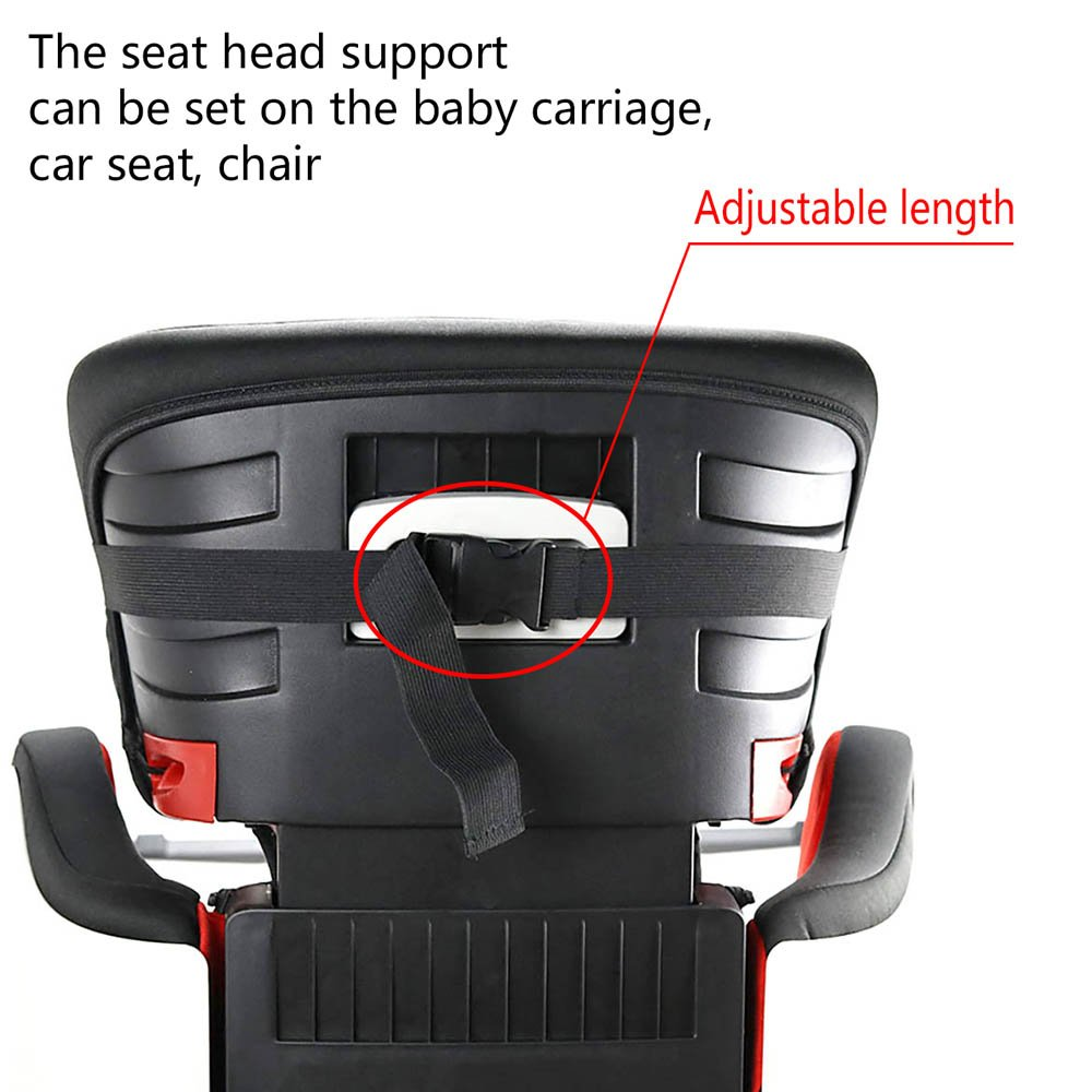 Amazon Baby Kids Car Seat Neck Relief Head Support Band With Adjustable Belt Random Color