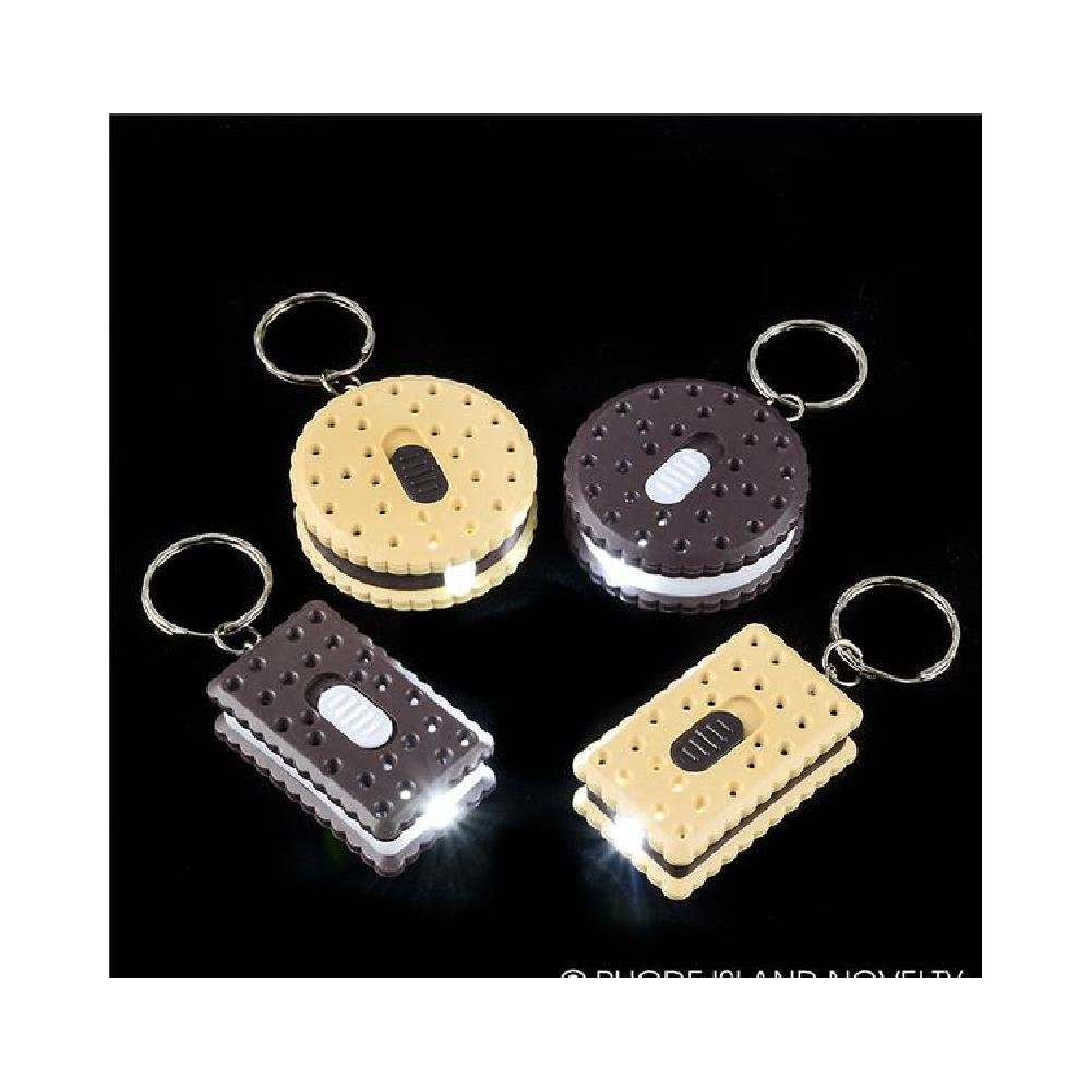 1.75'' Flashlight Cookie Keychain