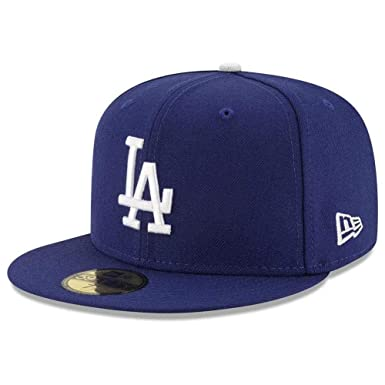 96cd78f238b30 Amazon.com  New Era 59FIFTY Los Angeles Dodgers MLB 2017 Authentic ...