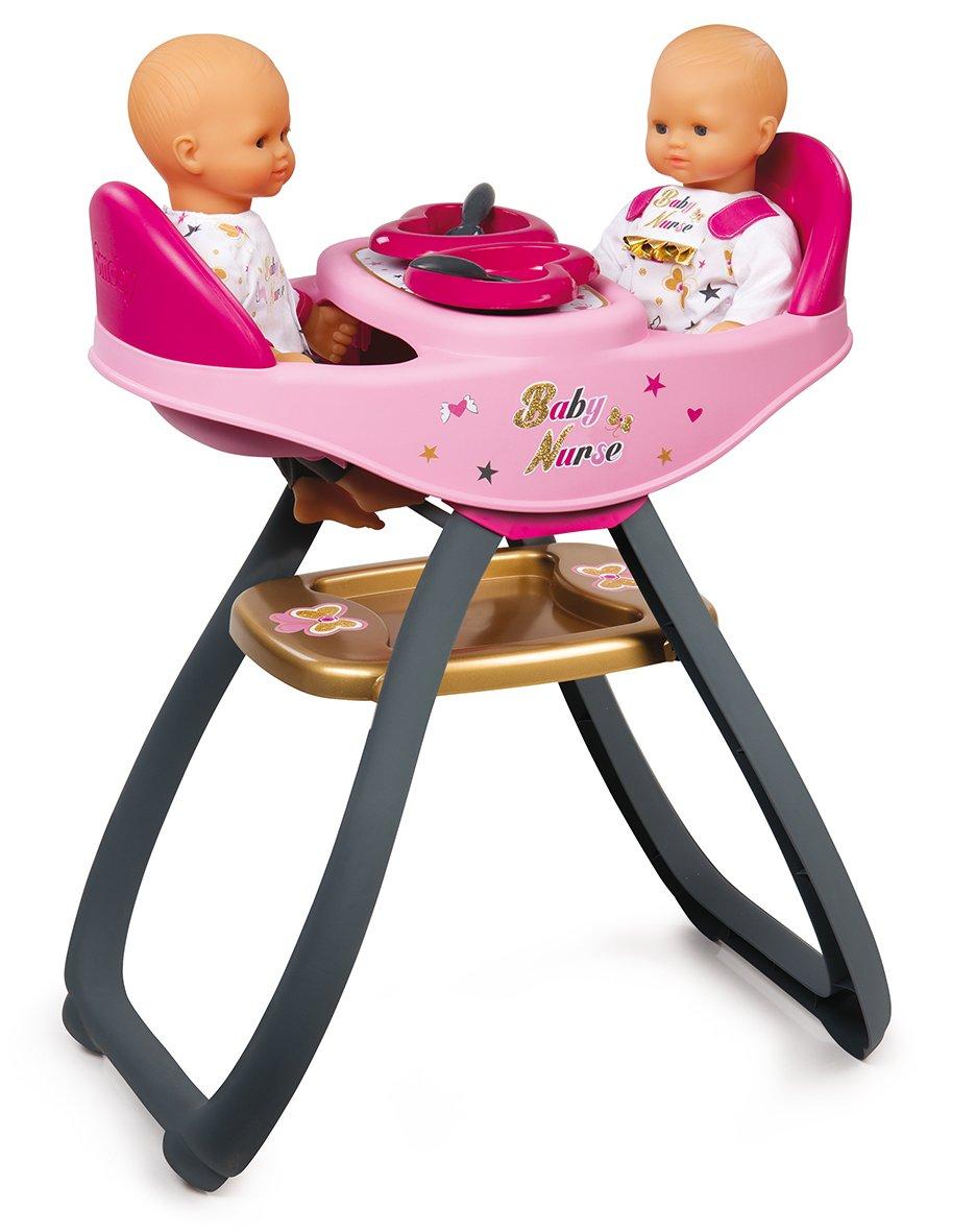 Smoby 220315 Baby Nurse Zwillingspuppen Hochstuhl 7/220315
