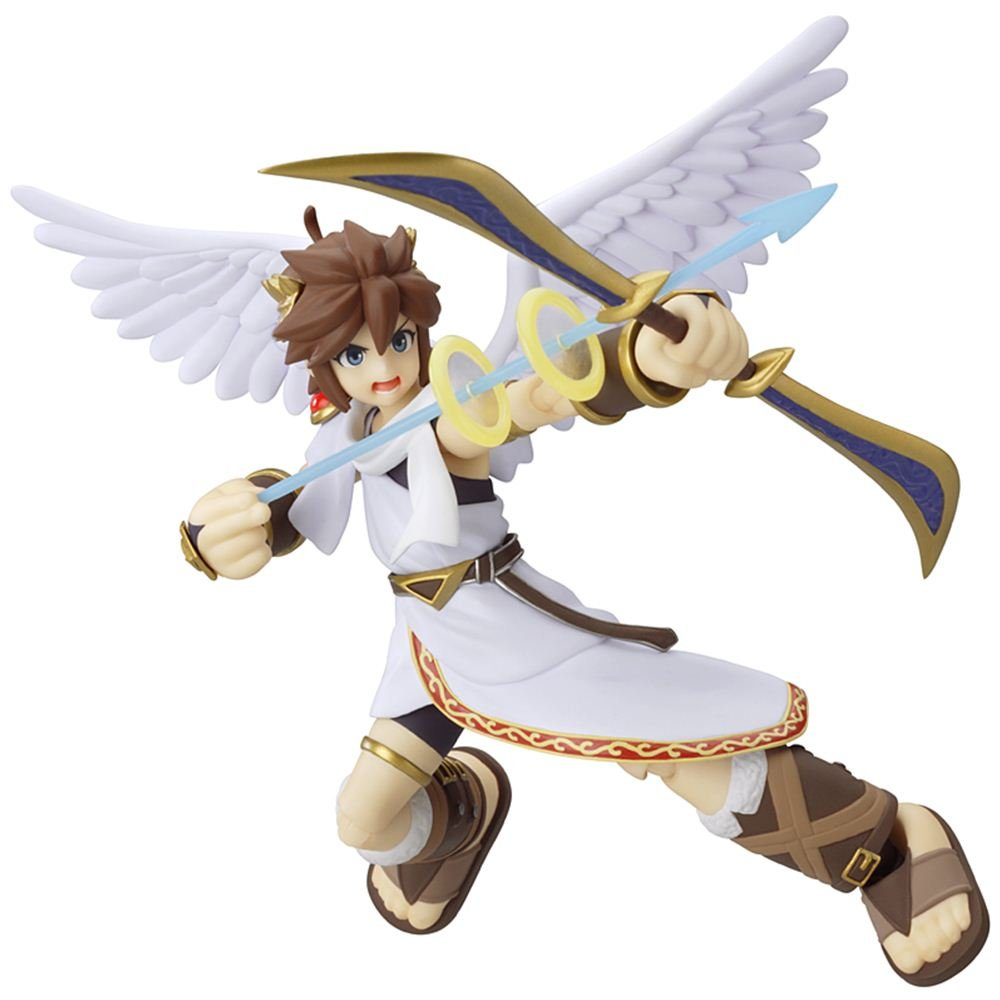 Amazon Good Smile Kid Icarus Uprising Pit Figma Action Figure Toys Games
