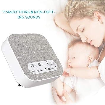 Dispositivo de polisomnografía de terapia de sueño de la máquina de sonido de ruido blanco Sonidos naturales únicos y configuración del temporizador para ...