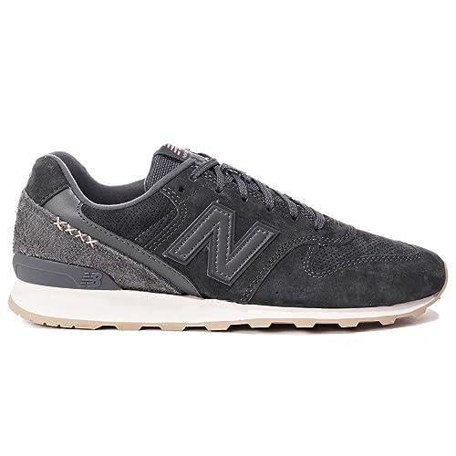29288b826d514 Amazon.com | New Balance WMNS 996 Lifestyle Women Sneakers Dark Grey ...