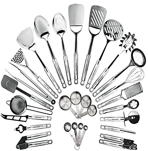HomeHero Kitchen Cooking Utensils Set -