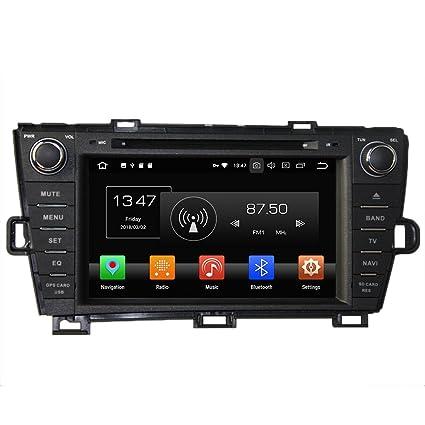 Android 8.0 Octa Core Autoradio DVD GPS navegación Reproductor multimedia estéreo de coche para Toyota Prius