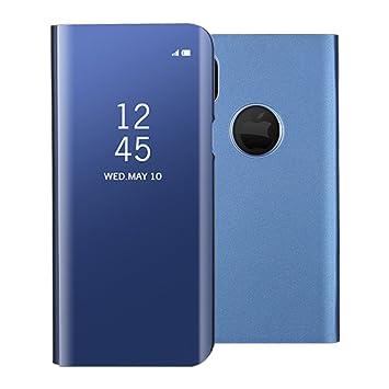 great fit ee4f8 da5c6 TOCASO iPhone X Hülle, iPhone X Hülle Blau, LED View Cover iPhone X ...
