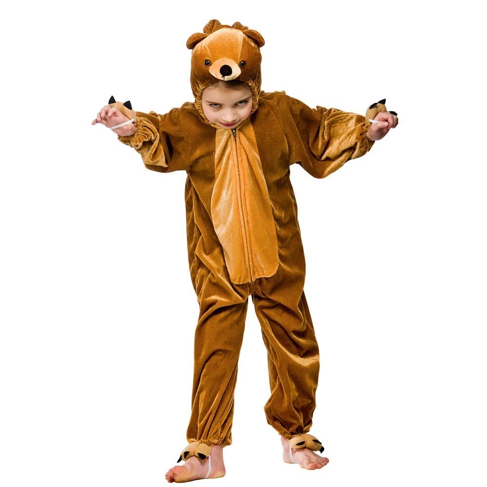 Childrens Costume Size 7-8 Boogie Woogie Bear (disfraz): Amazon ...