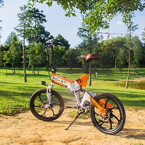 eBike_RICHBIT 730 Bicicletas eléctricas plegables Bicicleta eléctrica Bicicleta de ciudad Bicicleta de cercanías Bicicleta eléctrica Ciclismo 250W 48V 8AH ...