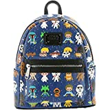 Loungefly Star Wars Baby Character Print Mini Faux Leather Backpack STBK0043