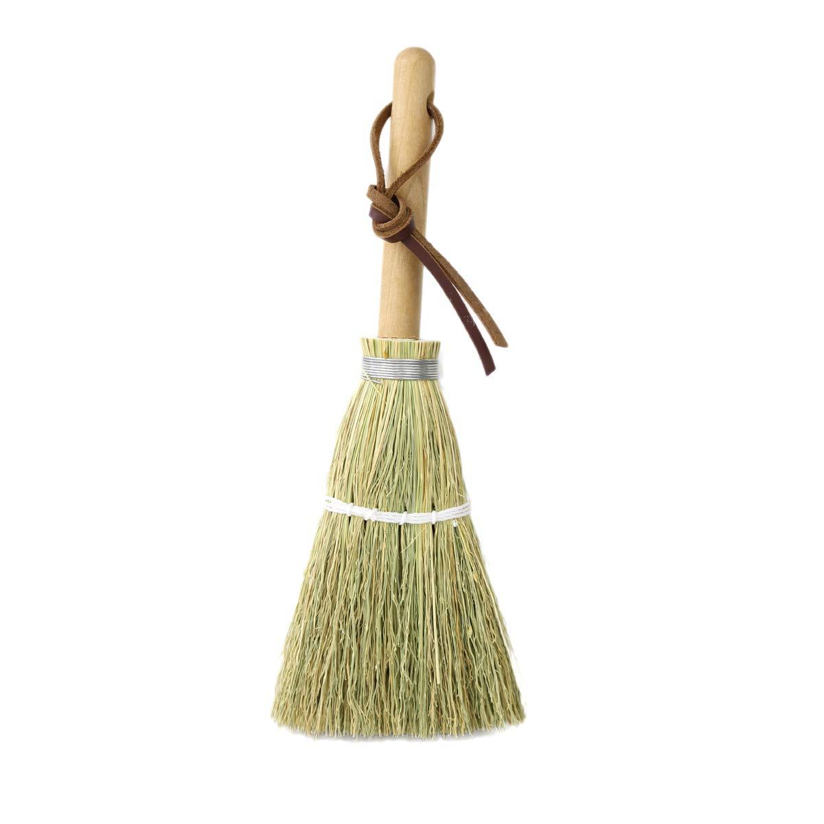 Camden Rose Child's Whisk Broom (Short, hand broom), Natural by Camden Rose